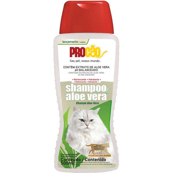 Shampoo Procão Aloe Vera para Gatos 500 ml