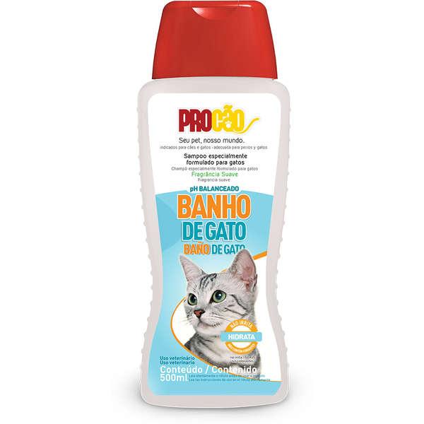 Shampoo Procão Banho de Gato 500 ml
