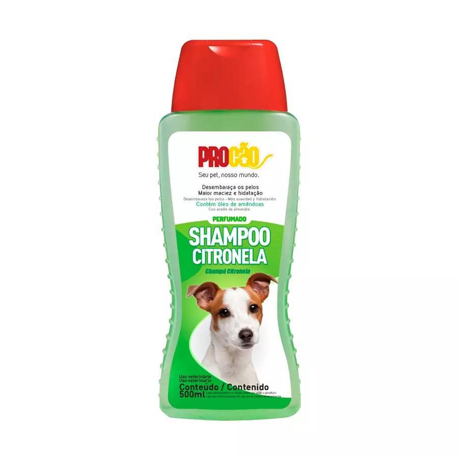 Shampoo Procão para Cães Citronela 500ml