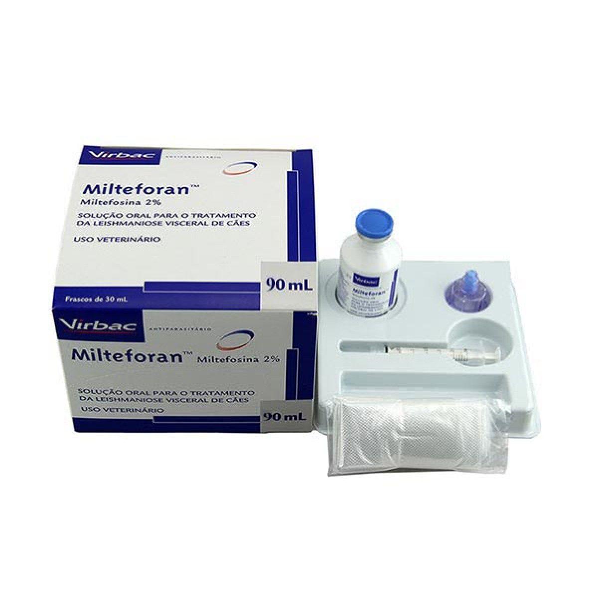 Solução Oral para Tratamento de Leishmaniose Milteforan 90ml