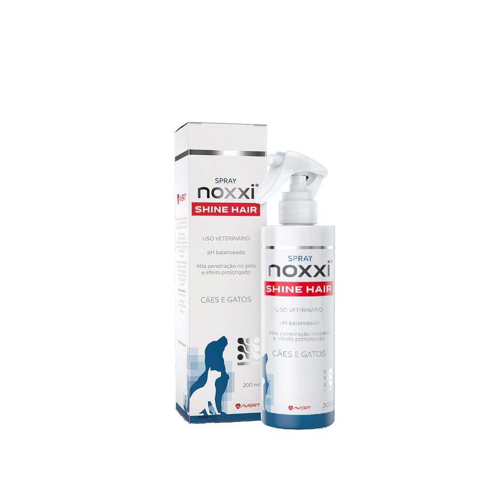 Spray Noxxi Shine Hair Avert para Cães e Gatos 200ml