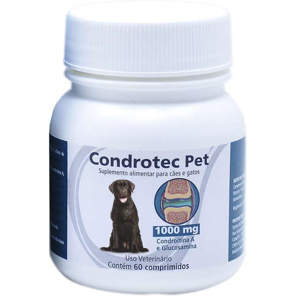 Suplemento Alimentar Syntec Condrotec Pet Cães e Gatos 1000mg