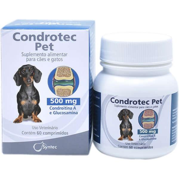 Suplemento Alimentar Syntec Condrotec Pet Cães e Gatos 500mg