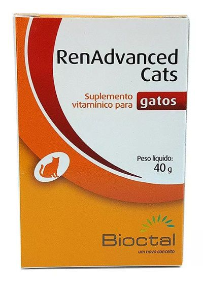 SUPLEMENTO MINERAL RENADVANCED CATS 40g PARA GATOS