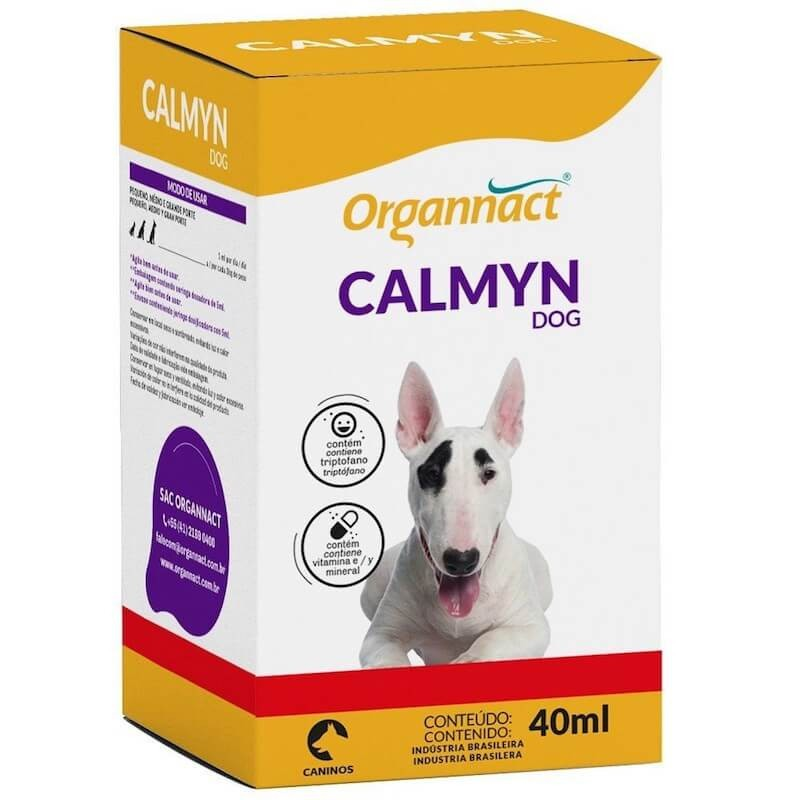 Suplemento Organnact Calmyn Dog 40ml