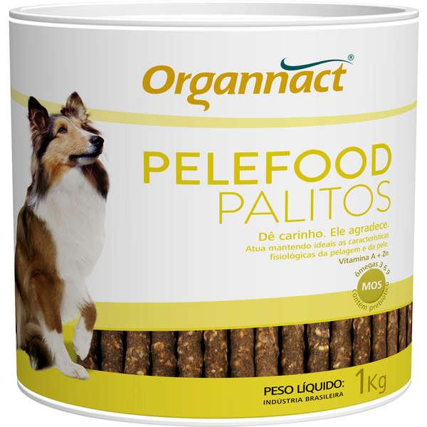 Suplemento Organnact Pelefood Lata de Palitos 1kg