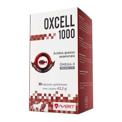SUPLEMENTO OXCELL 1000MG 30 CAPSULAS
