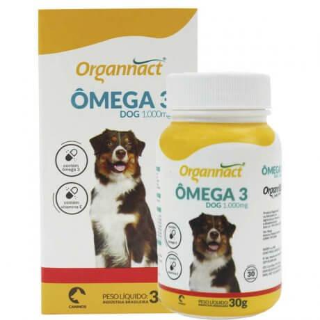 Suplemento Vitamínico Organnact Omega 3 Dog 1000 30g