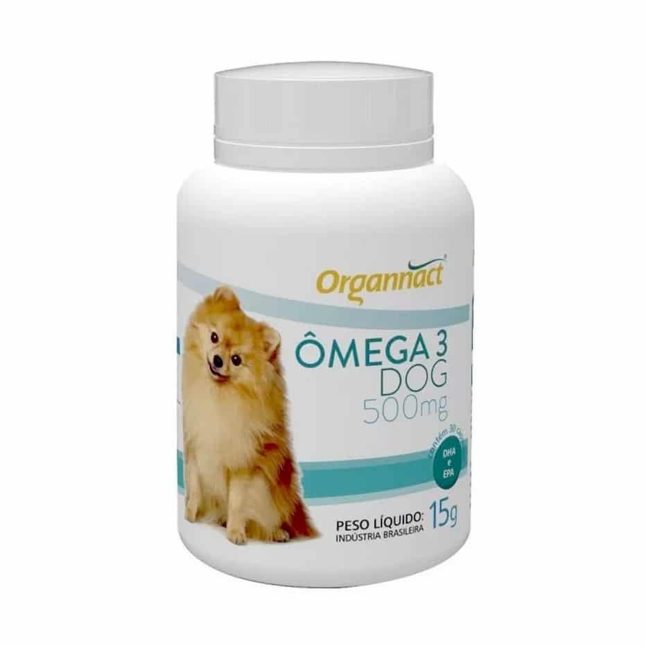 Suplemento Vitamínico Organnact Omega 3 Dog 500 15g