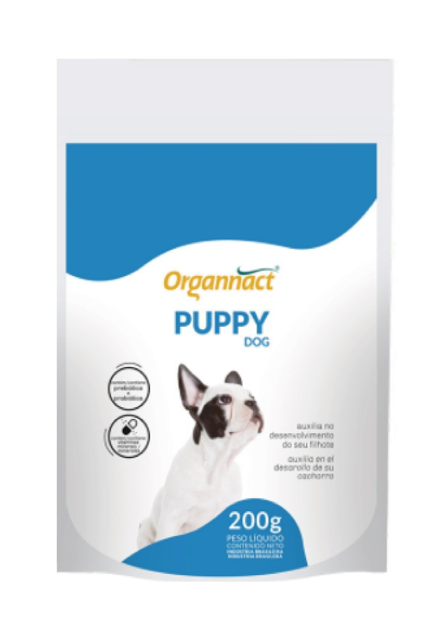 Suplemento Vitaminico Organnact Puppy Dog 200g