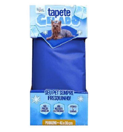 Tapete Gelado Pequeno Azul 40x50cm The Pets Brasil