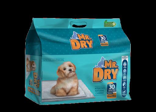 Tapete Higienico Mr Dry 30 Unidades 80x60cm