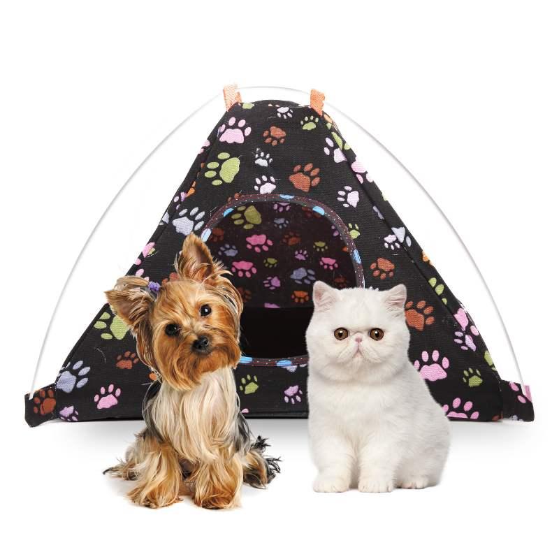 Tenda Para PEts Estampas Variadas 45cm x 40cm x 45cm ( LxAxC )