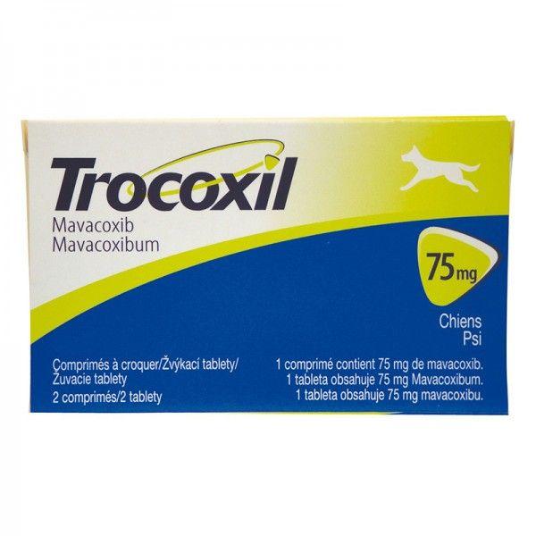 Anti-inflamatório Zoetis Trocoxil de 2 Comprimidos - 75 mg