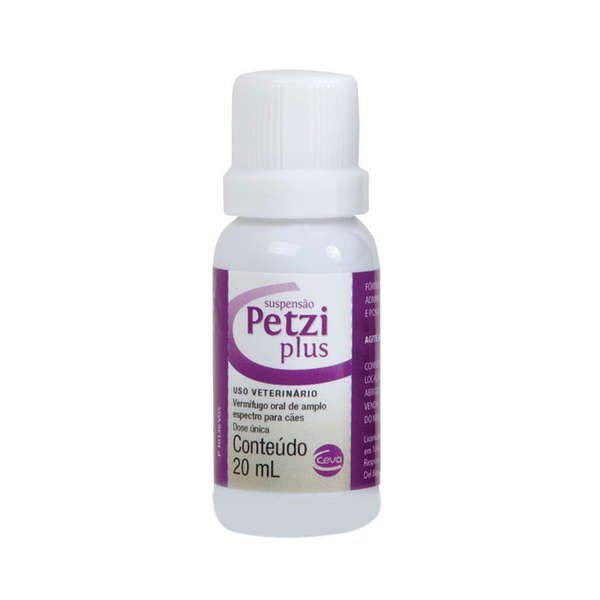 Vermífugo Ceva Petzi Plus Suspensão - 20 mL