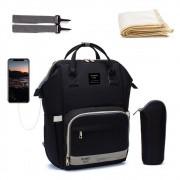 Bolsa/Mochila Maternidade Mommy Bag Com USB e Impermeável Completa