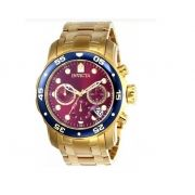 Relógio Invicta Pro Diver Fundo Vinho 80066