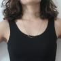 Corrente modelo francesa Longa Folheado a Ouro Rosê