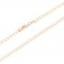 Pingente São Bento Diamantado Com Corrente Elo Grumet Folheado a Ouro Rosê