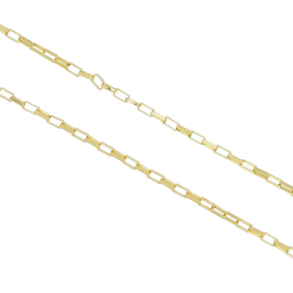 029787fb4d7 Corrente Cartier Folheado a Ouro 18k - Tudo Jóias - Belas Jóias para ...