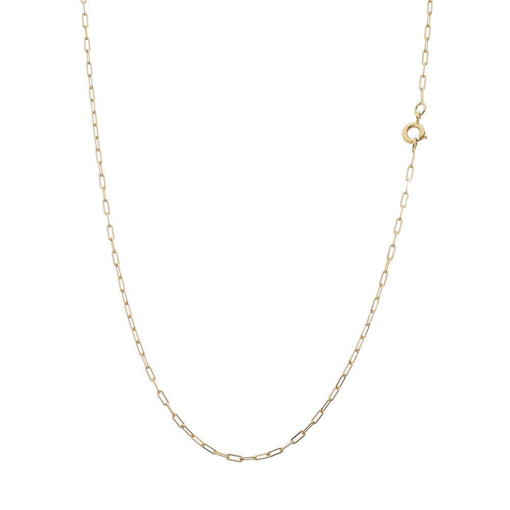 Corrente Folheada a Ouro 18k Modelo Cartier Longa com 70cm