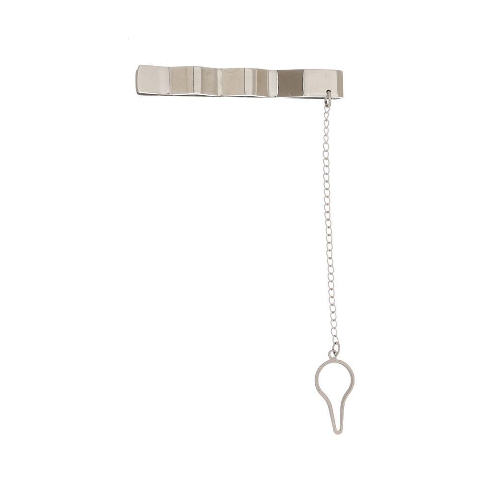 Prendedor de Gravata Grey Luxo Linha Bari