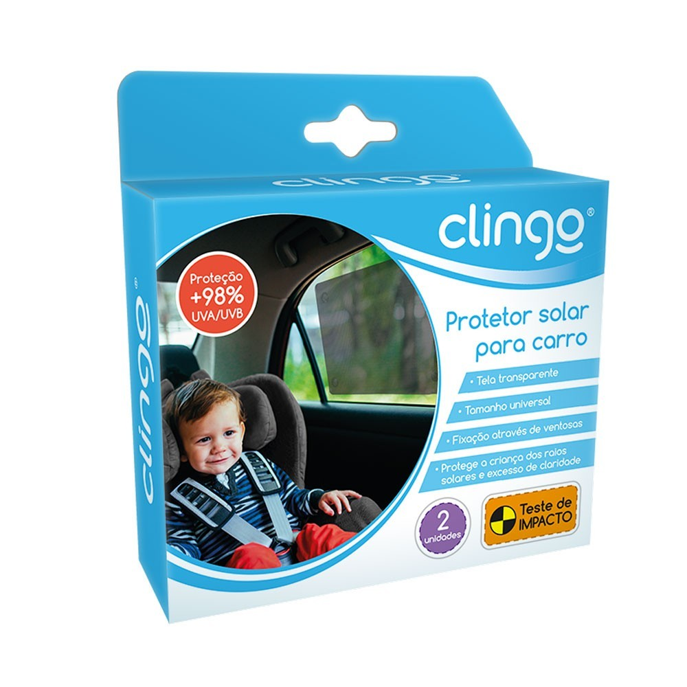 Protetor Solar Infantil para carro Clingo