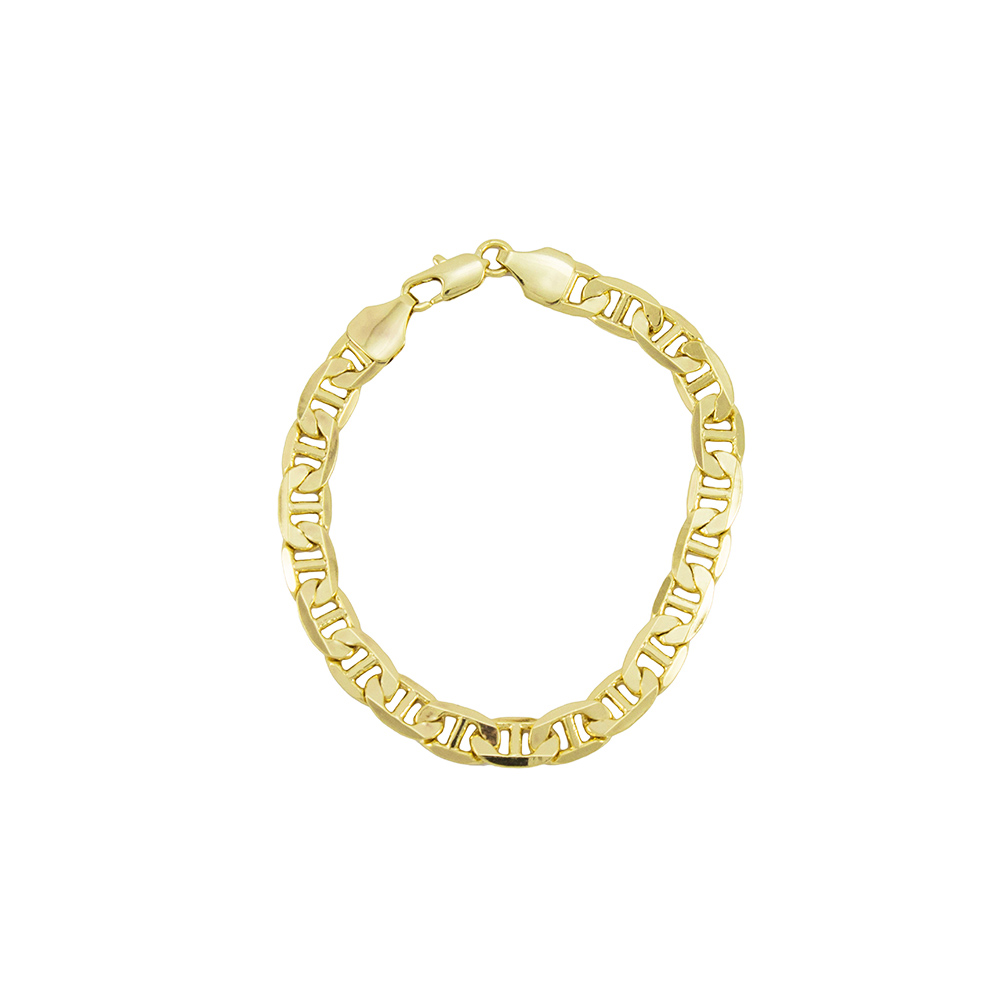 766ecdcd536 Pulseira Folheada a Ouro 18k Modelo Cartier Francesa Com 7