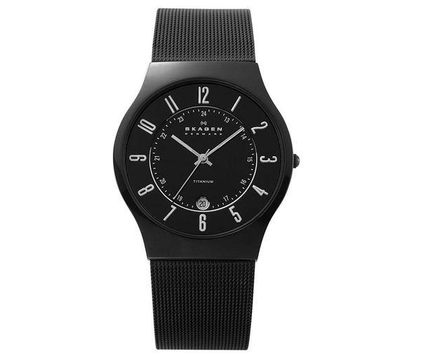 Relógio Skagen Black Titanium 233XLTMB/I