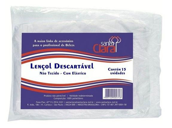 LENÇOL DESCARTÁVEL 2 MT X 90 CM