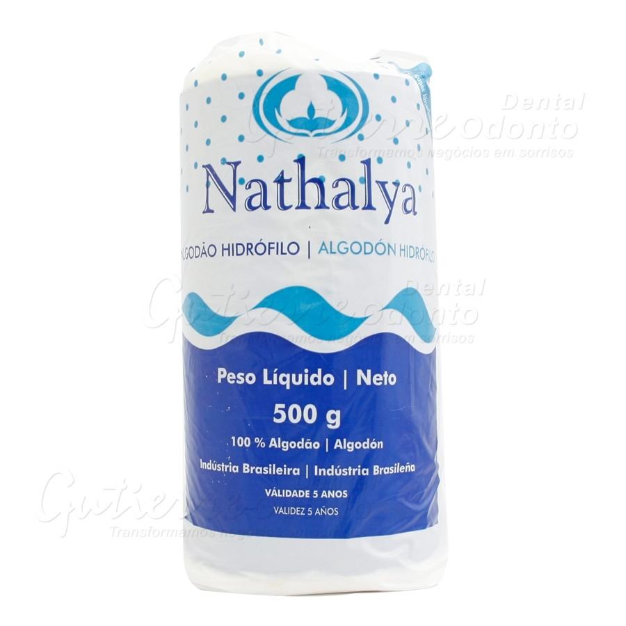 ALGODÃO HIDRÓFILO ROLO 500gr NATHY - NATHALYA