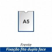 Display A5 em PETG com Fixação Fita Adesiva Dupla Face - Clace 1 UN