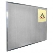Quadro de Avisos em Feltro Cinza 90 x 68 cm (L x A) - Clace 1 UN