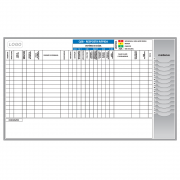 Quadro de Resposta Rápida - 210 x 125 cm - Clace 1 UN