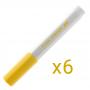 Marcador Multi Superfície Pintor 1.0 mm (Cores Clássicas) - Pilot CX 6 UN