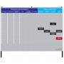 Quadro Preparação de Agendamento / Trabalho Paralisado - 255 x 180 cm - Clace 1 UN