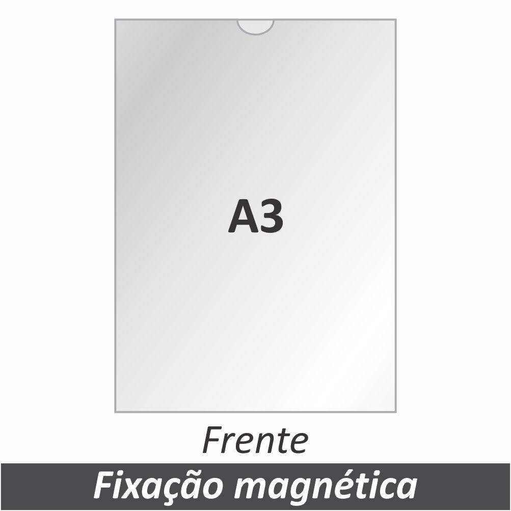 Display A3 em Acrílico com Fixação Magnética - Clace 1 UN