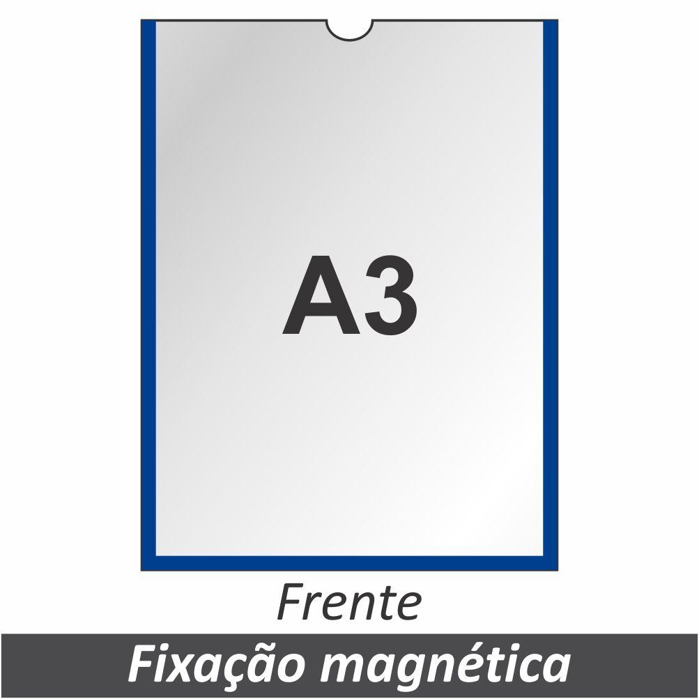 Display A3 em PETG com Fixação Magnética - Clace 1 UN