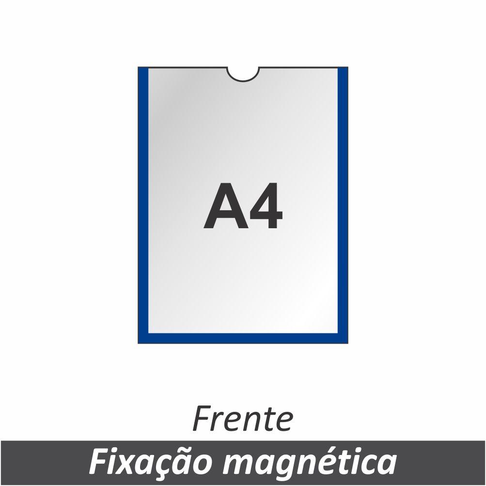 Display A4 em PETG com Fixação Magnética - Clace 1 UN