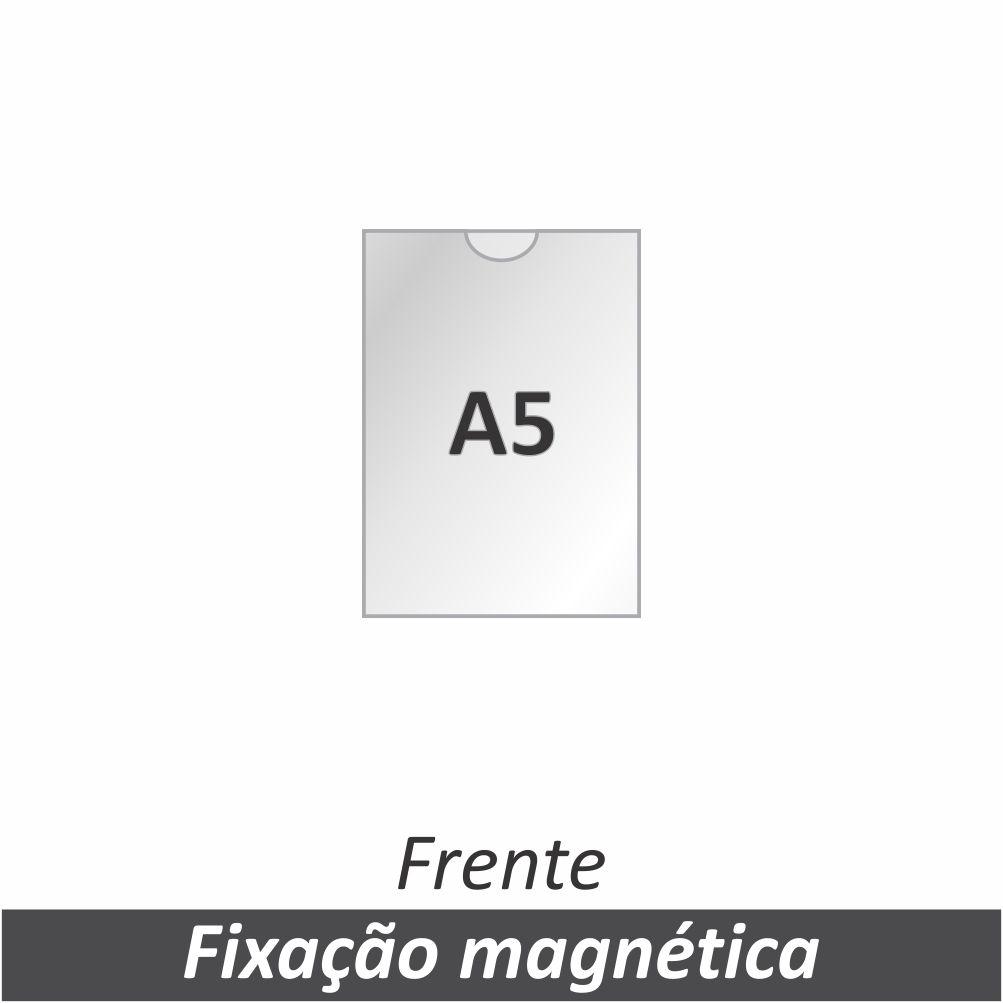 Display A5 em Acrílico com Fixação Magnética - Clace 1 UN