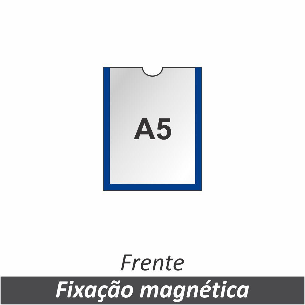 Display A5 em PETG com Fixação Magnética - Clace 1 UN