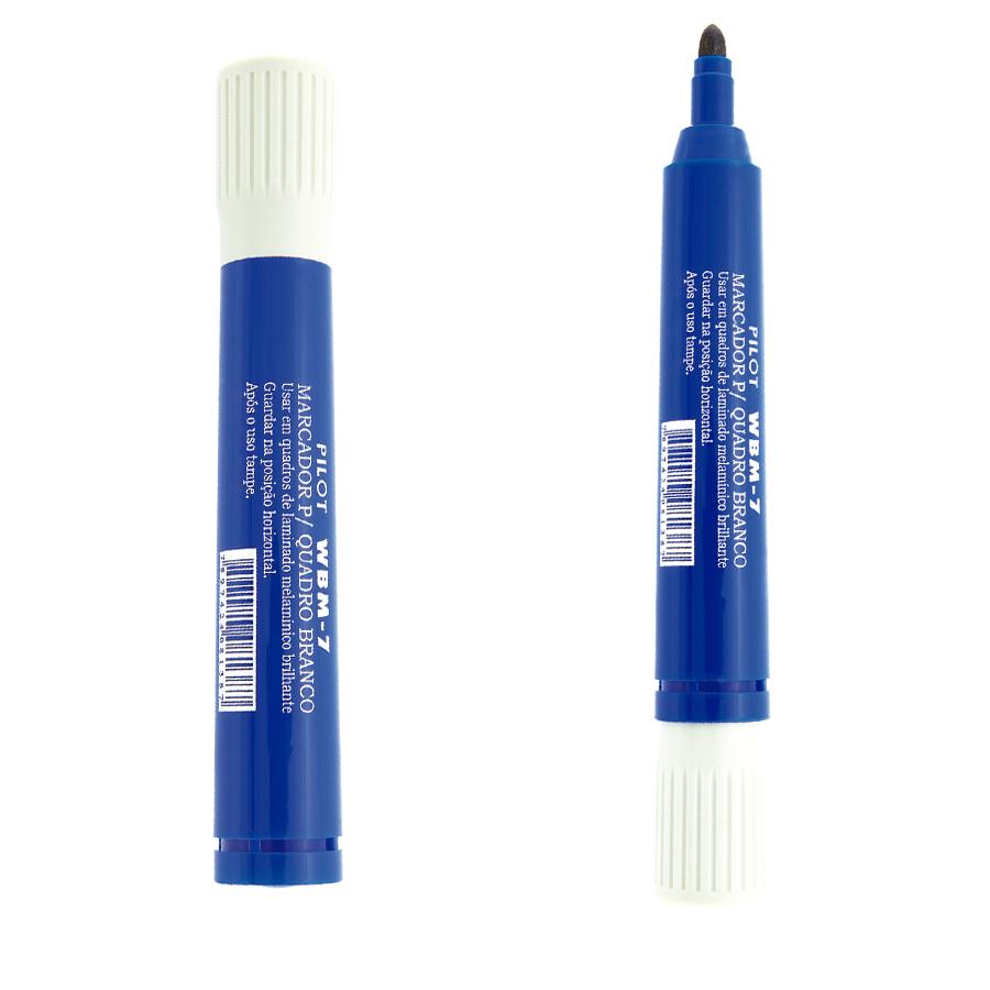 Marcador Não Recarregável para Quadro Branco WBM-7 Azul - Pilot 1 UN