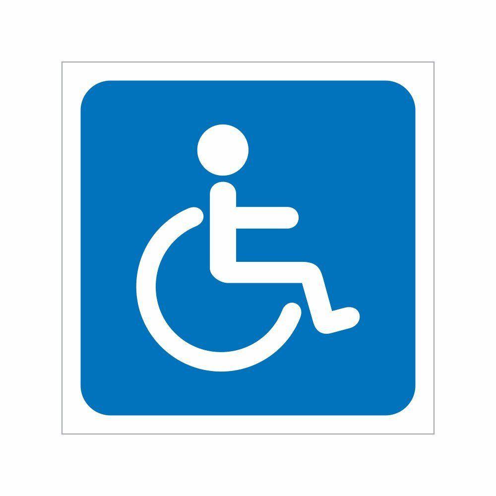 Placa Sanitário Cadeirante - Clace 1 UN