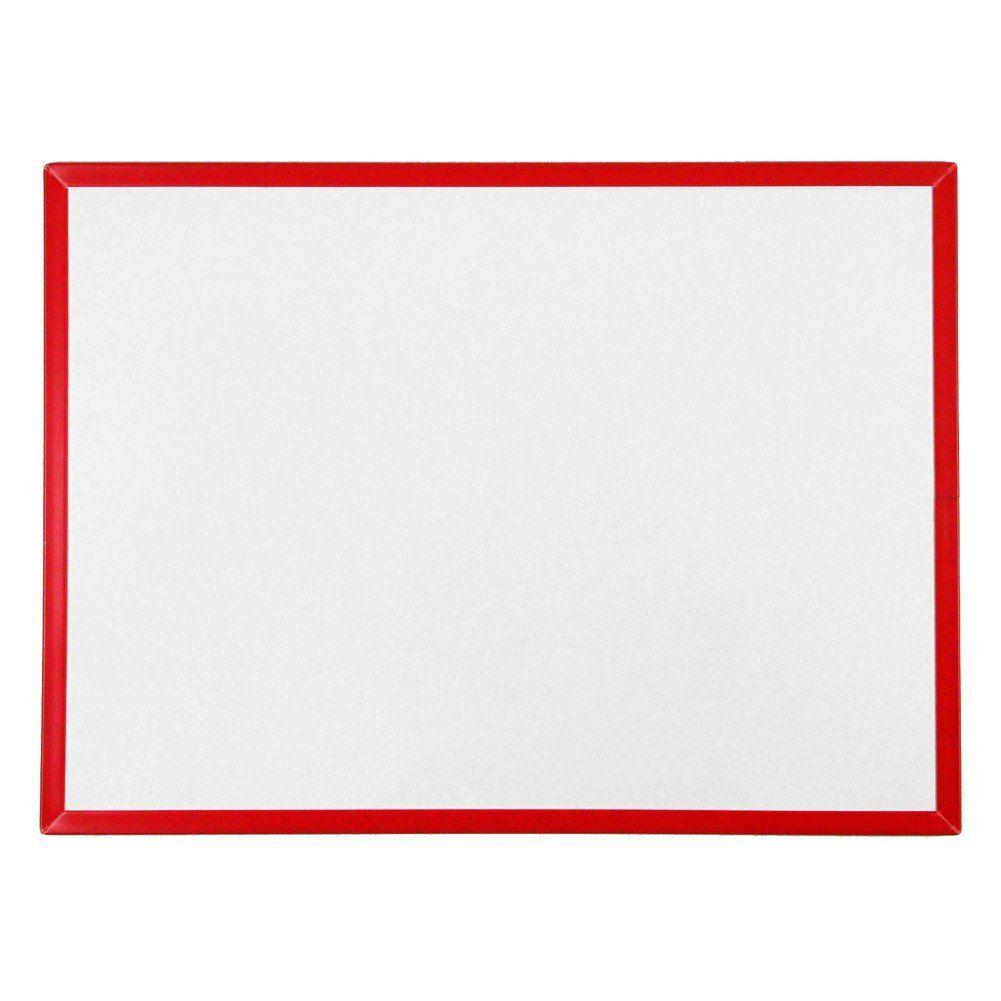 Quadro Branco Não Magnético Infantil 55 x 40 cm (moldura plástica) - Clace 1 UN
