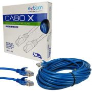 CABO DE REDE 20MTS EXBOM CBX-N5C200