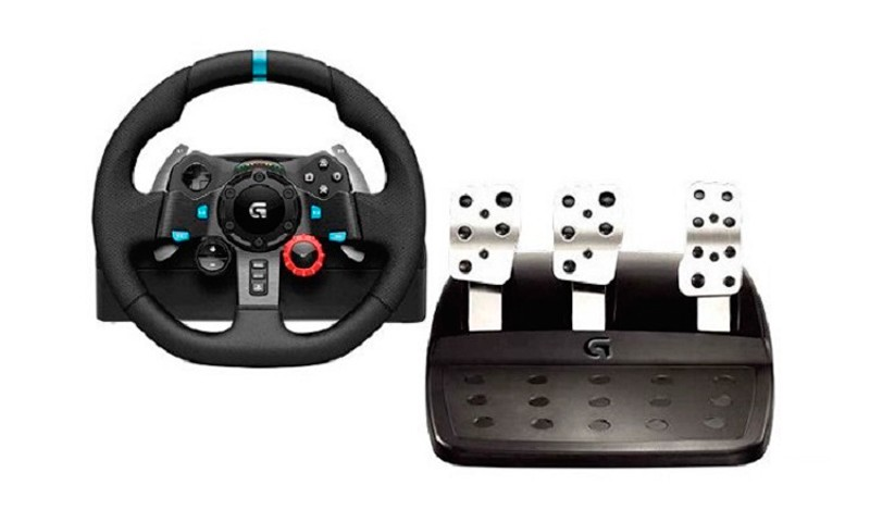 Volante Gamer G29 Driving Force LOGITECH - PS3, PS4 e PC Volante