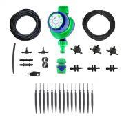 Kit Irrigação Gotejamento p/ 12 Vasos c/ Temporizador Manual 2h