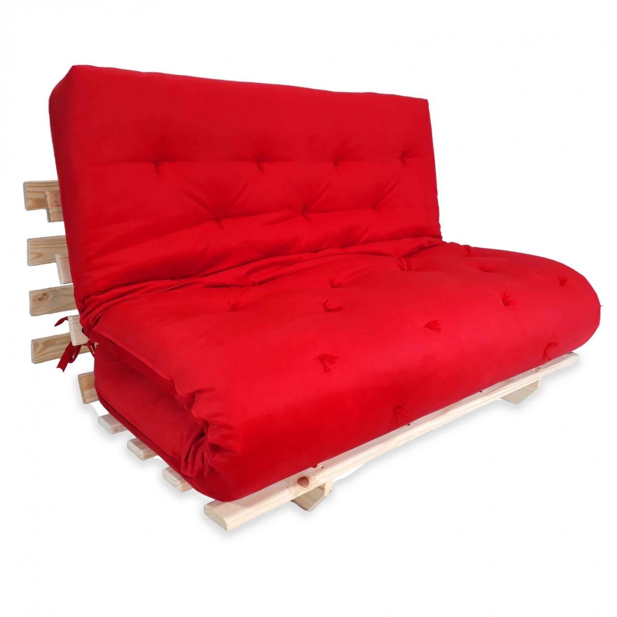 sofa cama futon. Black Bedroom Furniture Sets. Home Design Ideas