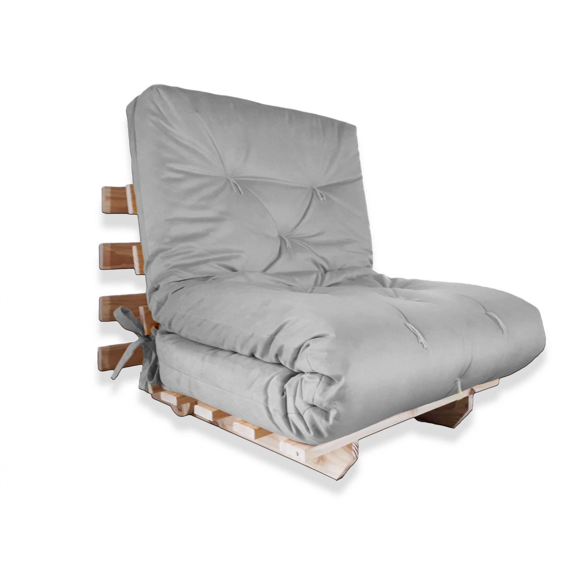 Sofa futon solteiro dobr vel sofa cama for Sofa cama tipo futon