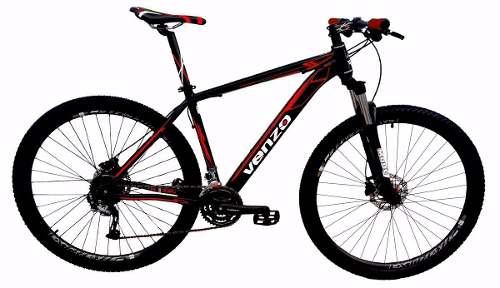 Bicicleta 29 Venzo Falcon 27v Shimano Alivio M4050 Integrado